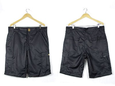 BERMUDA FOLLY CARGO RIPSTOP BLACK