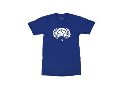 CAMISETA FOLLY LOGO WHITE ROYAL