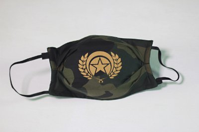MASK FOLLY MILITAR CAMU