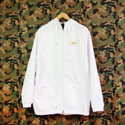 WINDBREAKER FOLLY TACTEL ALL WHITE GOLD