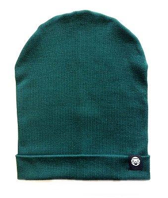 Gorro liso - Verde