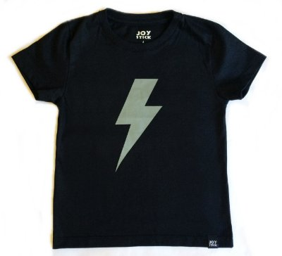 Camiseta raio - preta