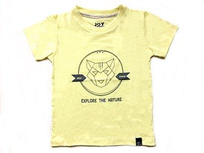 Camiseta Fox - amarela