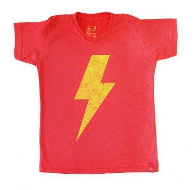 Camiseta Raio - vermelha