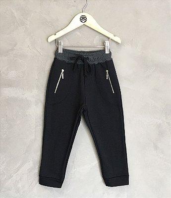 Calça Ziper preta