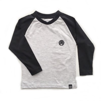 Camiseta Bryan - branco mescla