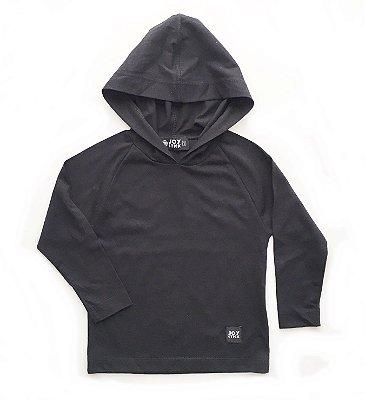 Camiseta Capuz - preta