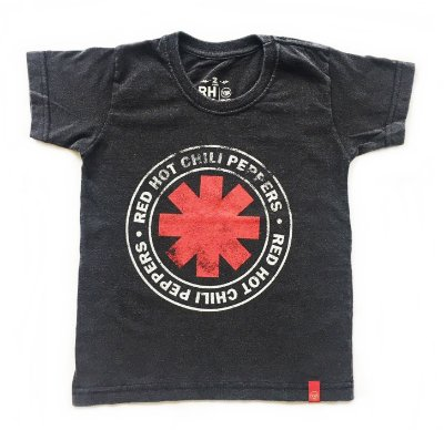 Camiseta Red Hot - Logo Seal