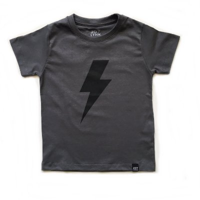 Camiseta raio - cinza
