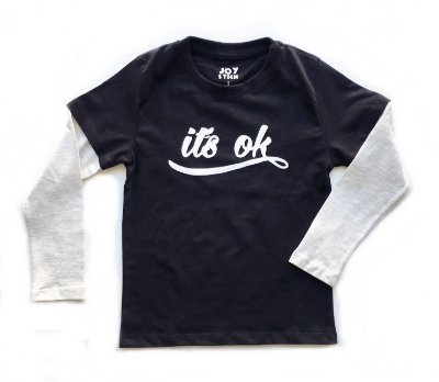 Camiseta manga longa Its ok