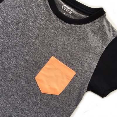 Camiseta Duo cinza - baby