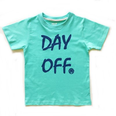 Camiseta Day off - verde