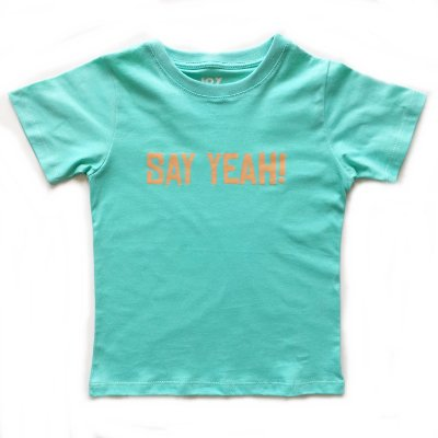Camiseta Say yeah -  verde