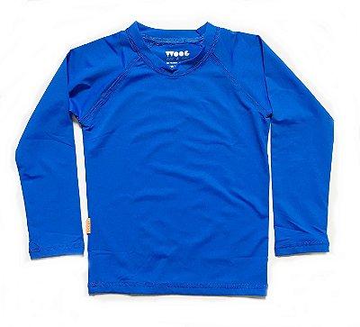 Camiseta com fator de proteção UV 50+ - royal