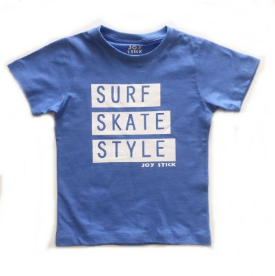 Camiseta Surf Skate Style - azul