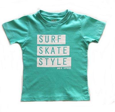 Camiseta Surf Skate Style - verde