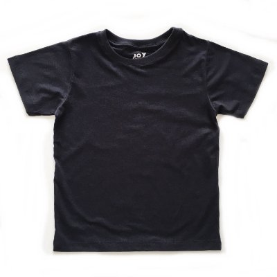 Camiseta lisa - preta