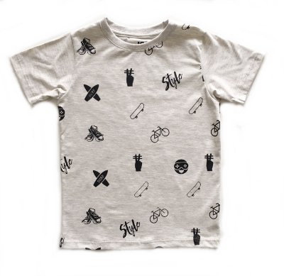 Camiseta JoyStyle - off mesclado