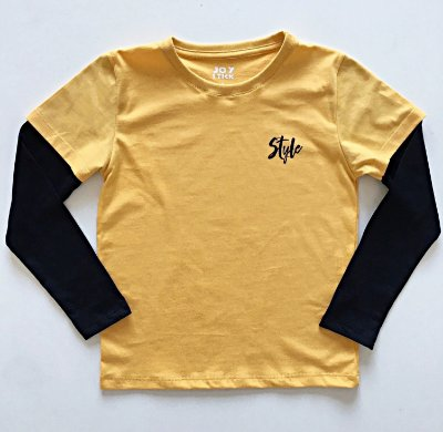 Camiseta Style - mostarda