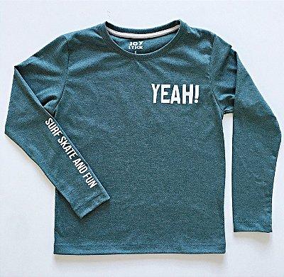 Camiseta Yeah - verde