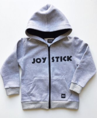 Blusão Joy Stick - cinza