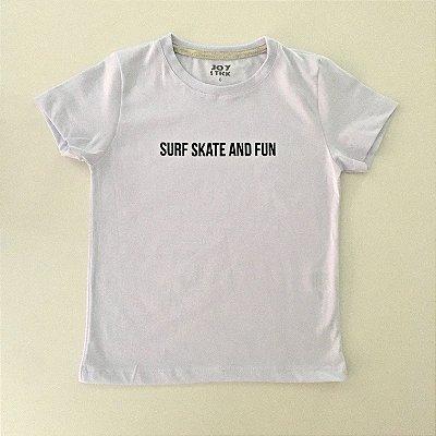 Camiseta Surf Skate branca