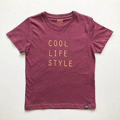 Camiseta Cool - Bordô