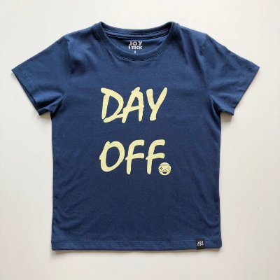 Camiseta Day Off - azul