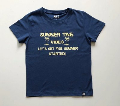 Camiseta Summer time -azul