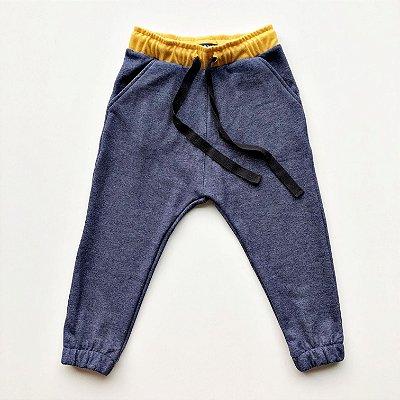 Calça Jogger azul jeans