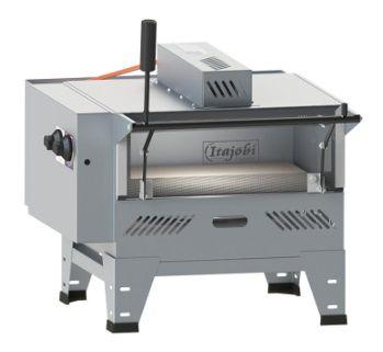 Pizza Grill Fixo Refratário Luxo c/ 01 Infravermelho
