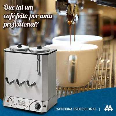 CAFETEIRA PROFISSIONAL MARCHESONI
