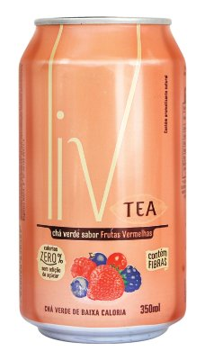 Liv Tea Frutas Vermelhas  - 36 uni. latas