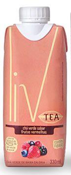 Liv Tea Frutas Vermelhas - 12 uni. Mini Tap