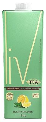 Liv Tea Limão Siciliano e Hortelã - 12 uni. litros