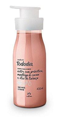 Creme Nutritivo Desodorante para o Corpo Noz Pecã e Cacau Tododia - 400ml