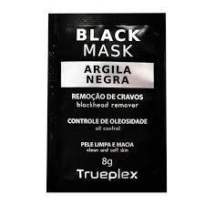 Mascara Facial  de Argila Negra Trueplex 8g