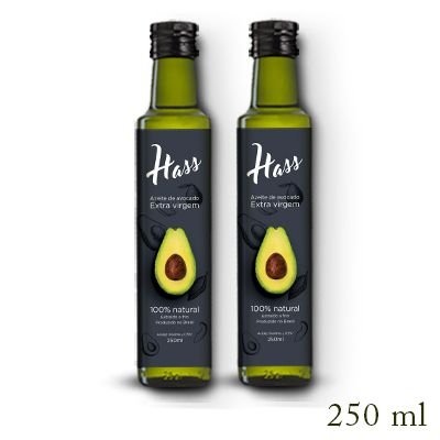 Azeite de Avocado Hass (2 Unid) - 250ml
