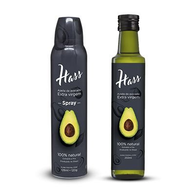 Kit - Azeite de Avocado Hass Spray e tradicional 250ml
