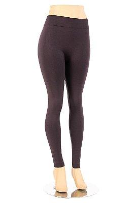 Calça Legging Marrom - Slim Fitness