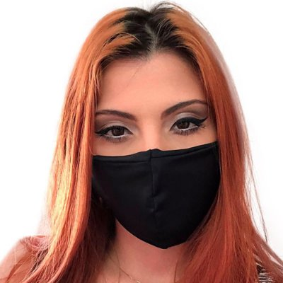 Kit com 05 Máscaras Antivirais Facial Ninja Máxima Proteção - Slim Fitness