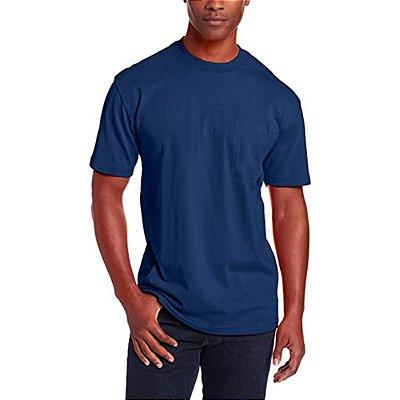 BF - Camiseta T-Shirt Básica Slim Tee - Slim Fitness - Azul Marinho