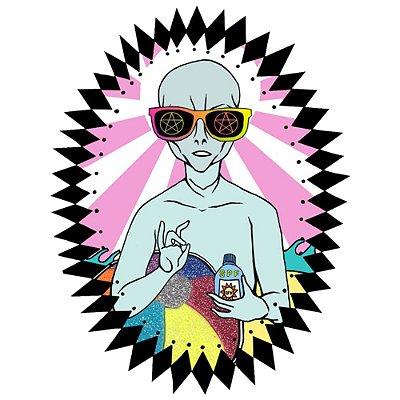 Camiseta ET Hippie
