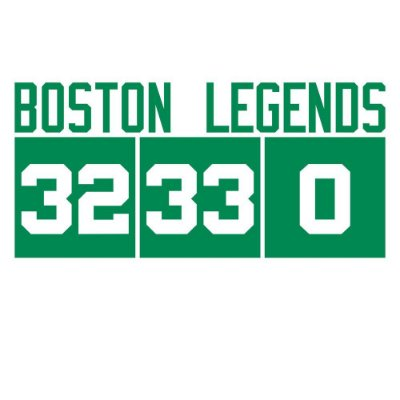 Camiseta Boston Legends