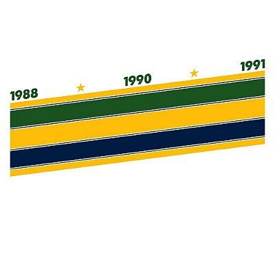 Camiseta Senna Tri