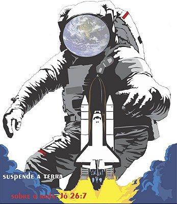 Camiseta Astronauta Cristão