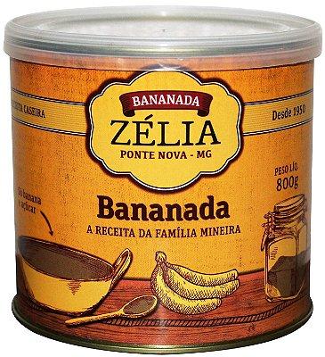 Bananada Zélia 800g