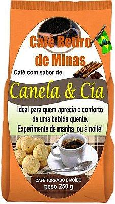 Café Aromatizado - Canela & cia