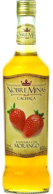 Cachaça de Morango - Nobre Minas 670ml