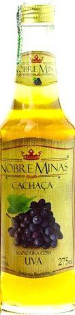 Cachaça de Uva - Nobre Minas 275ml